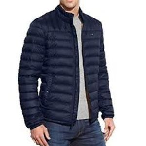 Tommy Hilfiger Packable Down Puffer Jacket Navy